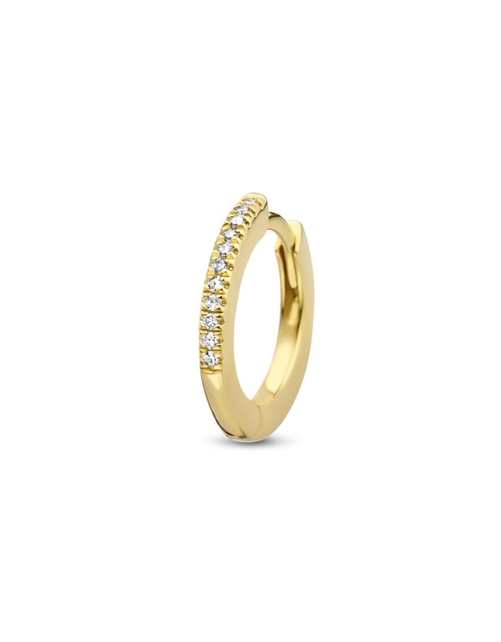 Diamanti Per Tutti Endless Hugging Hoop  - Yellow