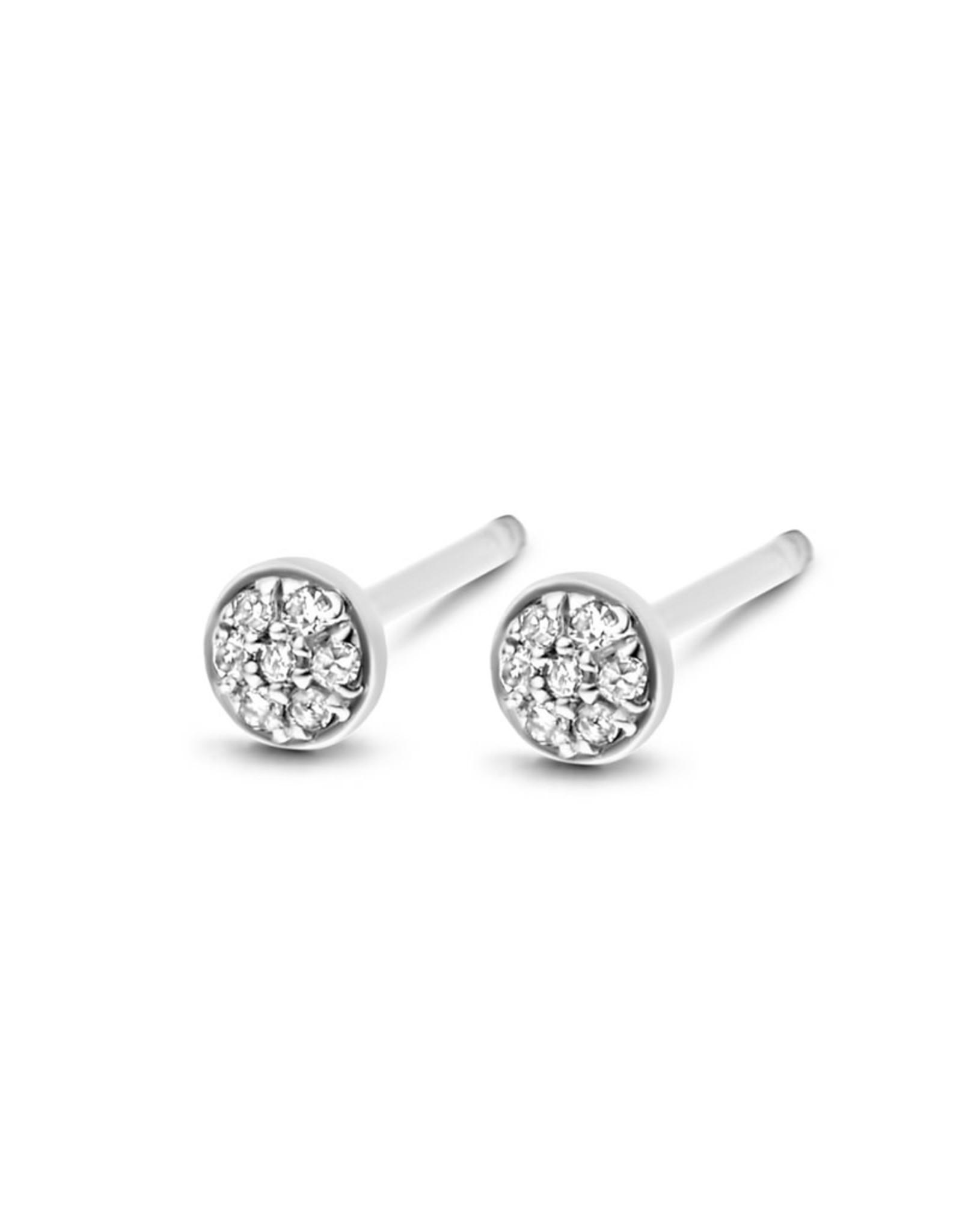Diamanti Per Tutti First Diamond Earring - Zilver Briljant