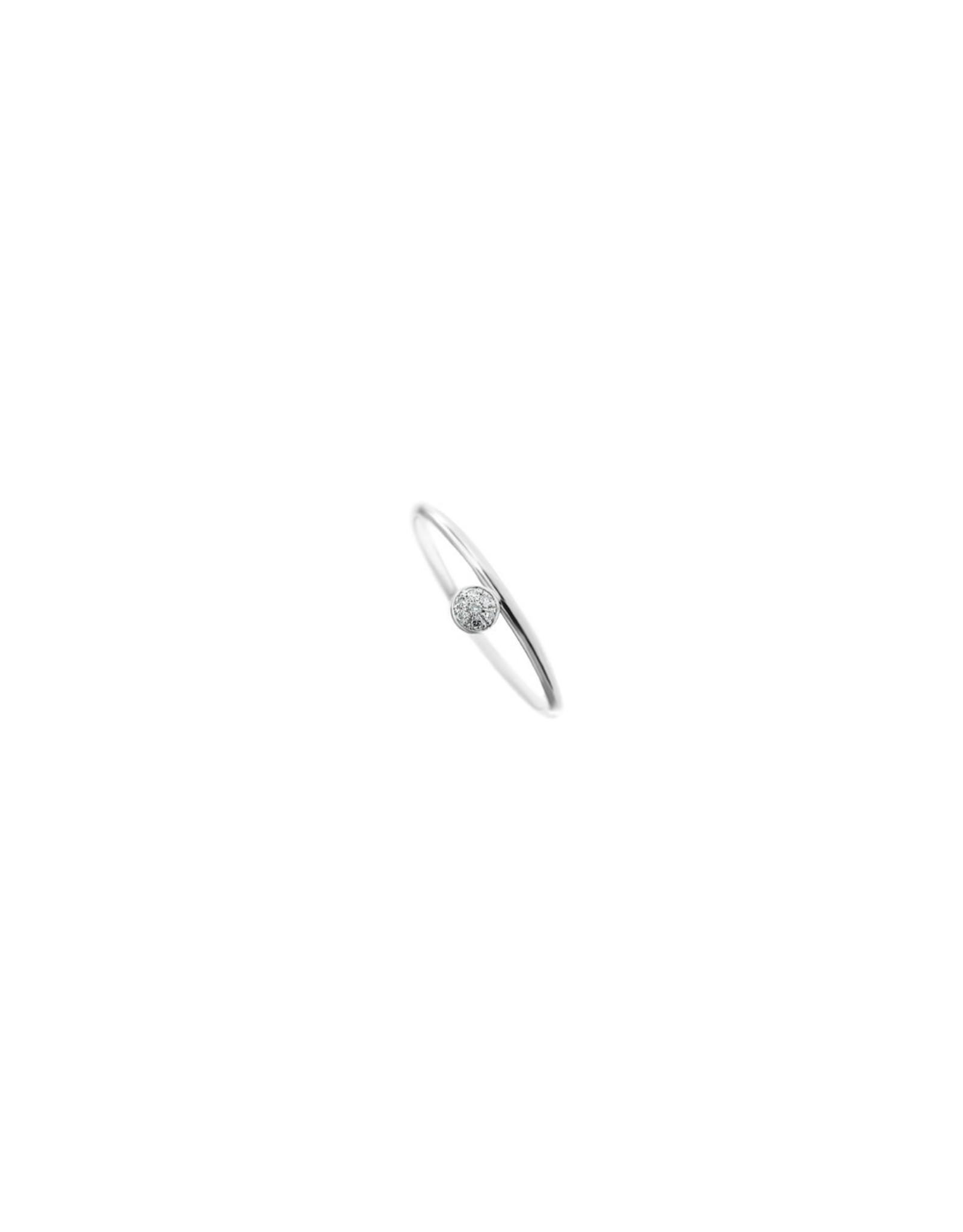 Diamanti Per Tutti First Diamond Ring - Zilver Briljant - 52