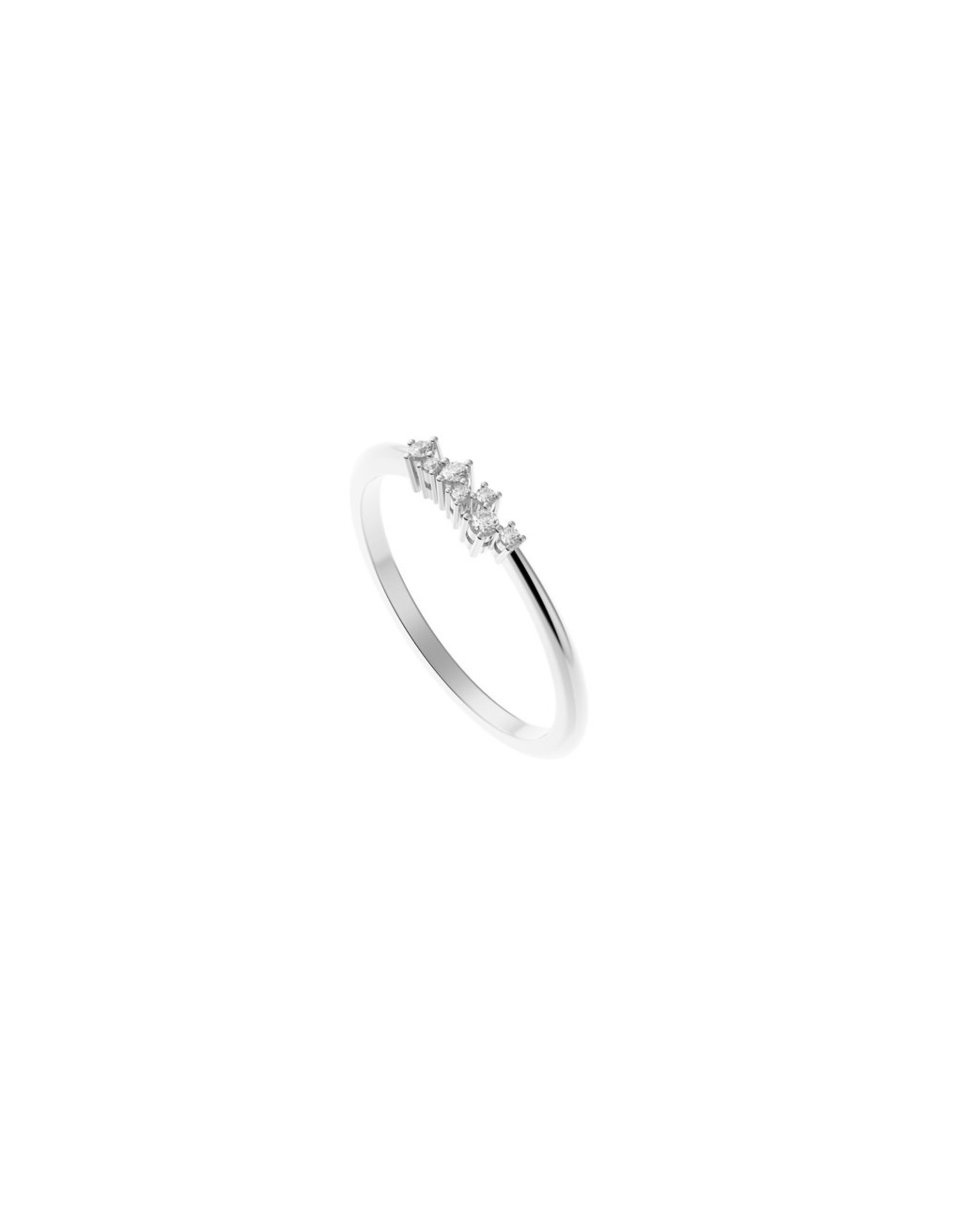 Diamanti Per Tutti Sari Ring - Zilver Briljant - 52