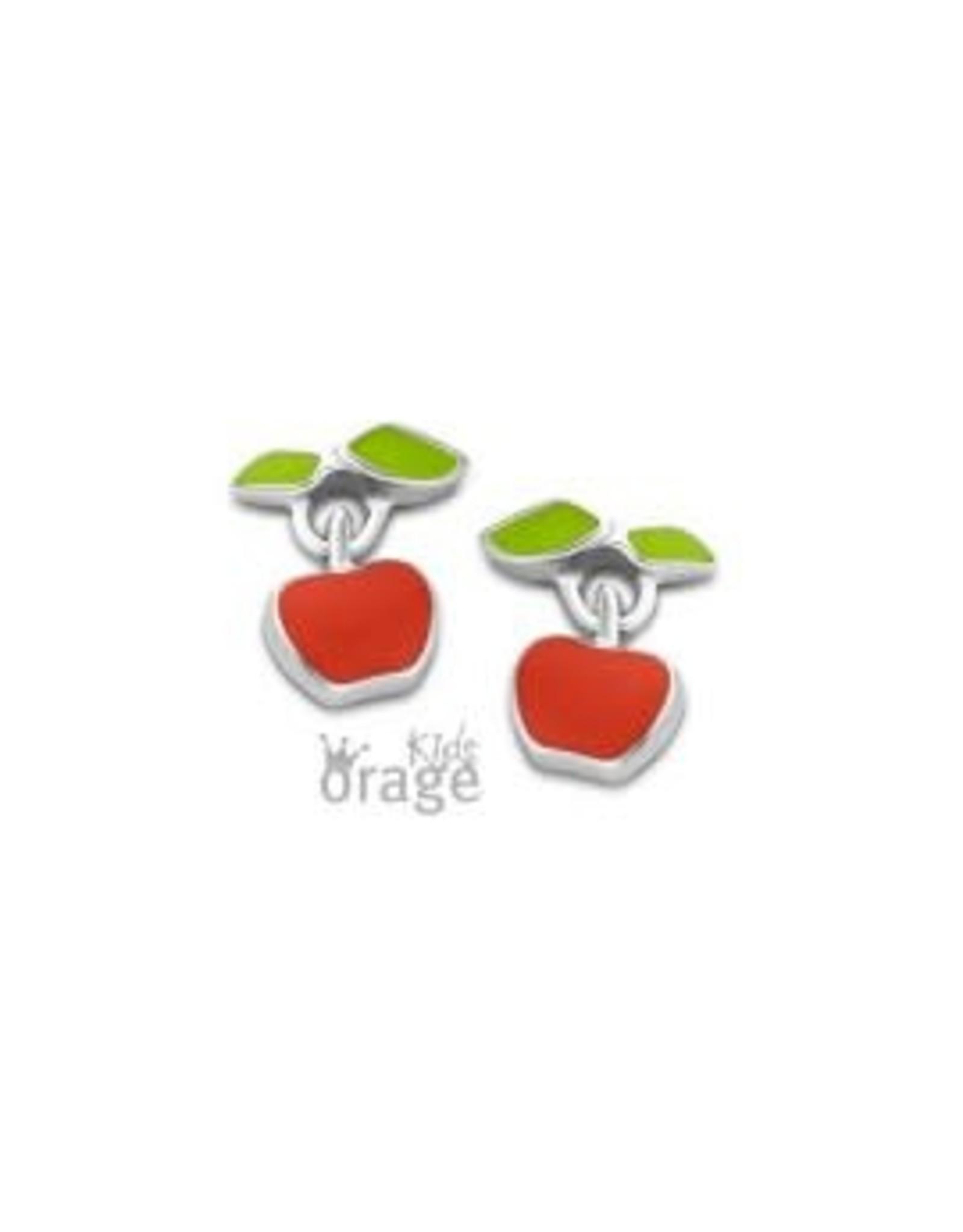 Orage Kids Oorbellen K2035 Zilver Appel