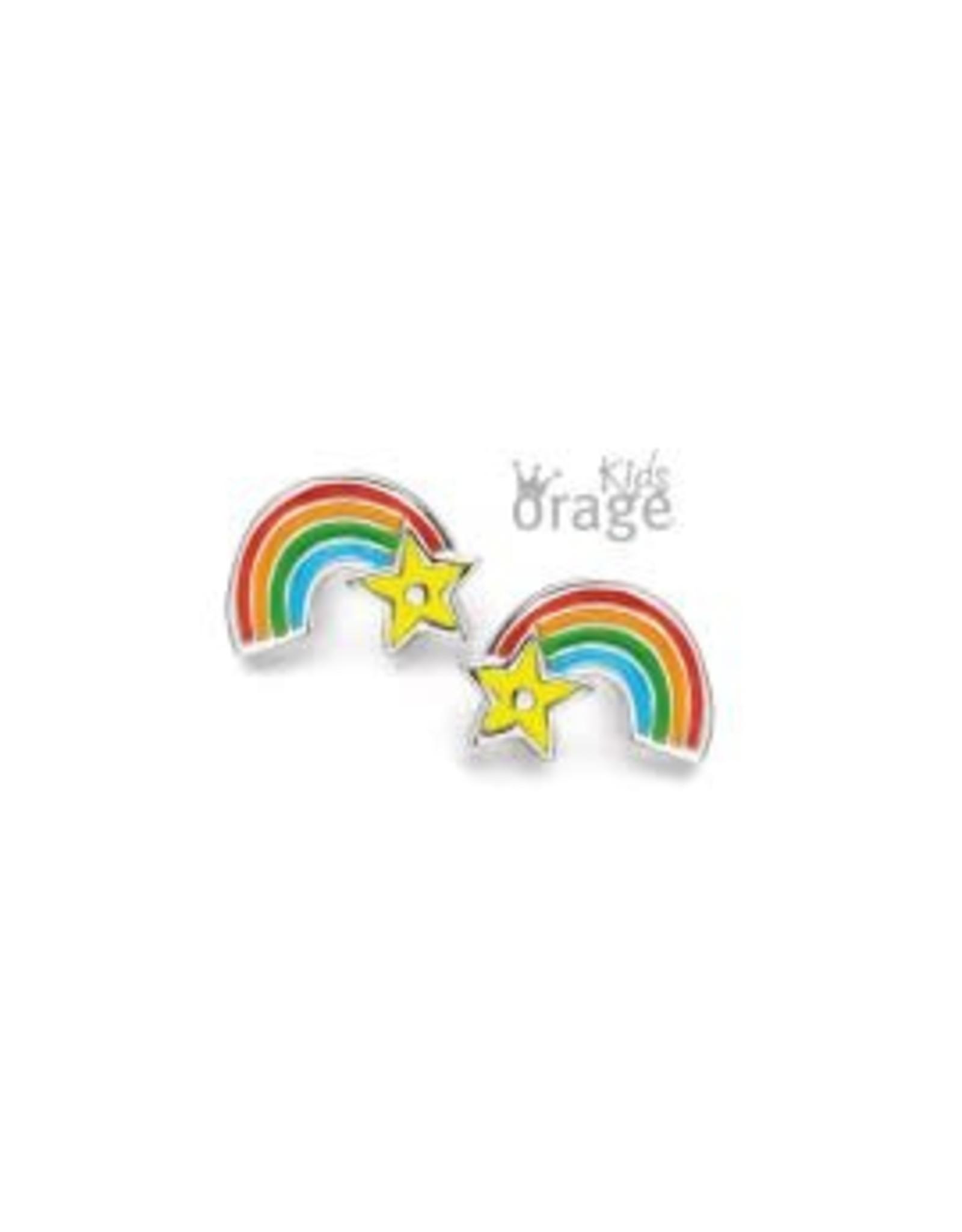 Orage Kids Oorbellen Orage Kids K2125-K1897 Regenboog Zilver