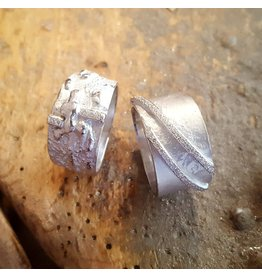 Mathisse by Stevigny Ring Mathisse by Stevigny R14/757-56 Zilver(ring rechts op foto)