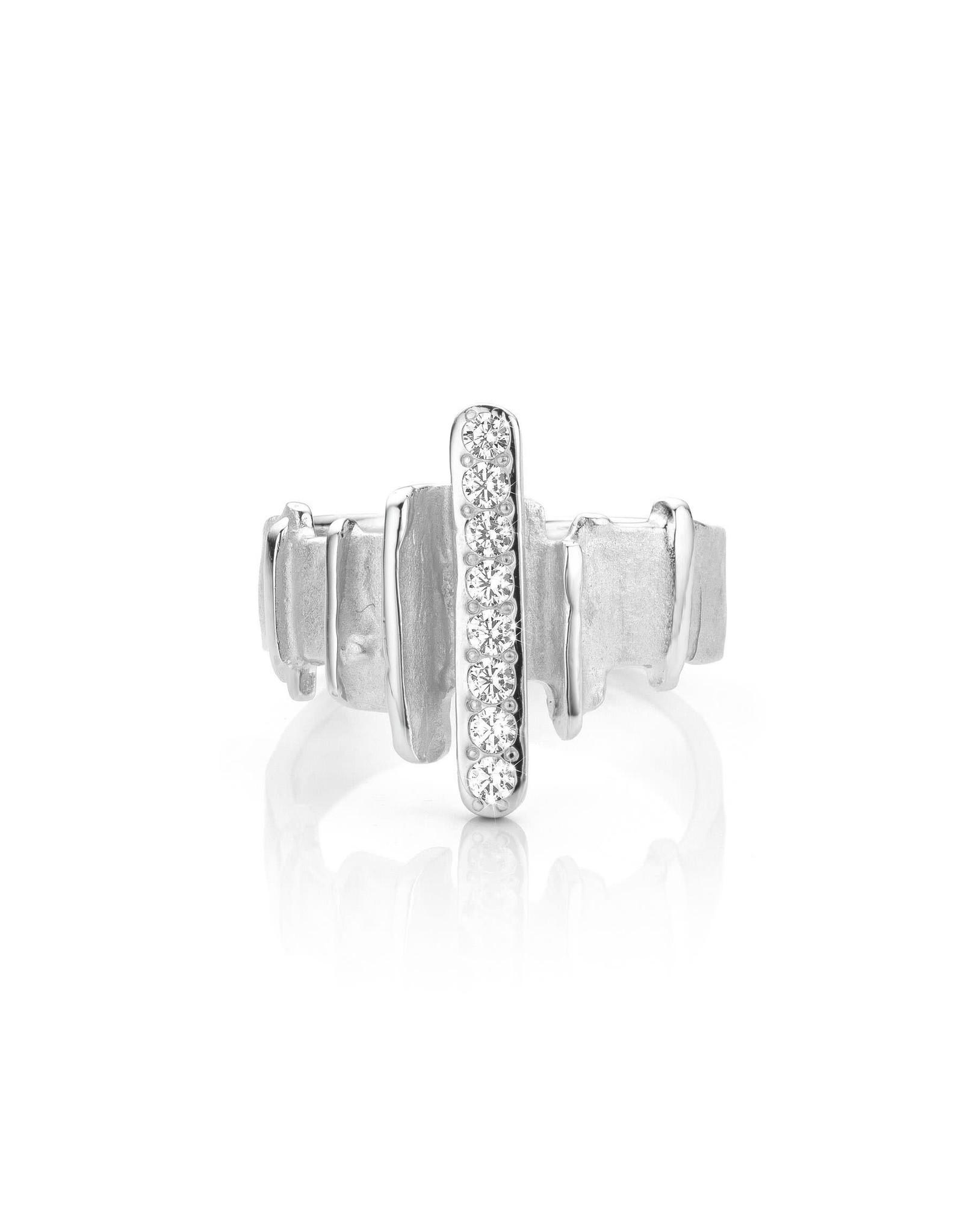 Mathisse by Stevigny Ring Mathisse by Stevigny R861-56 Zilver