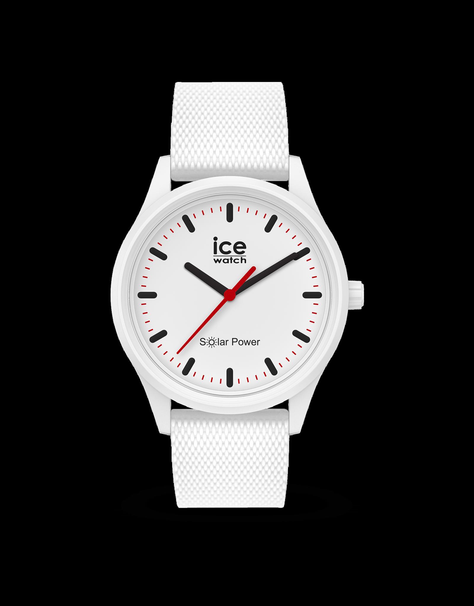 Ice Watch Ice Solar Power - Polar - Medium - Mesh strap - 018390