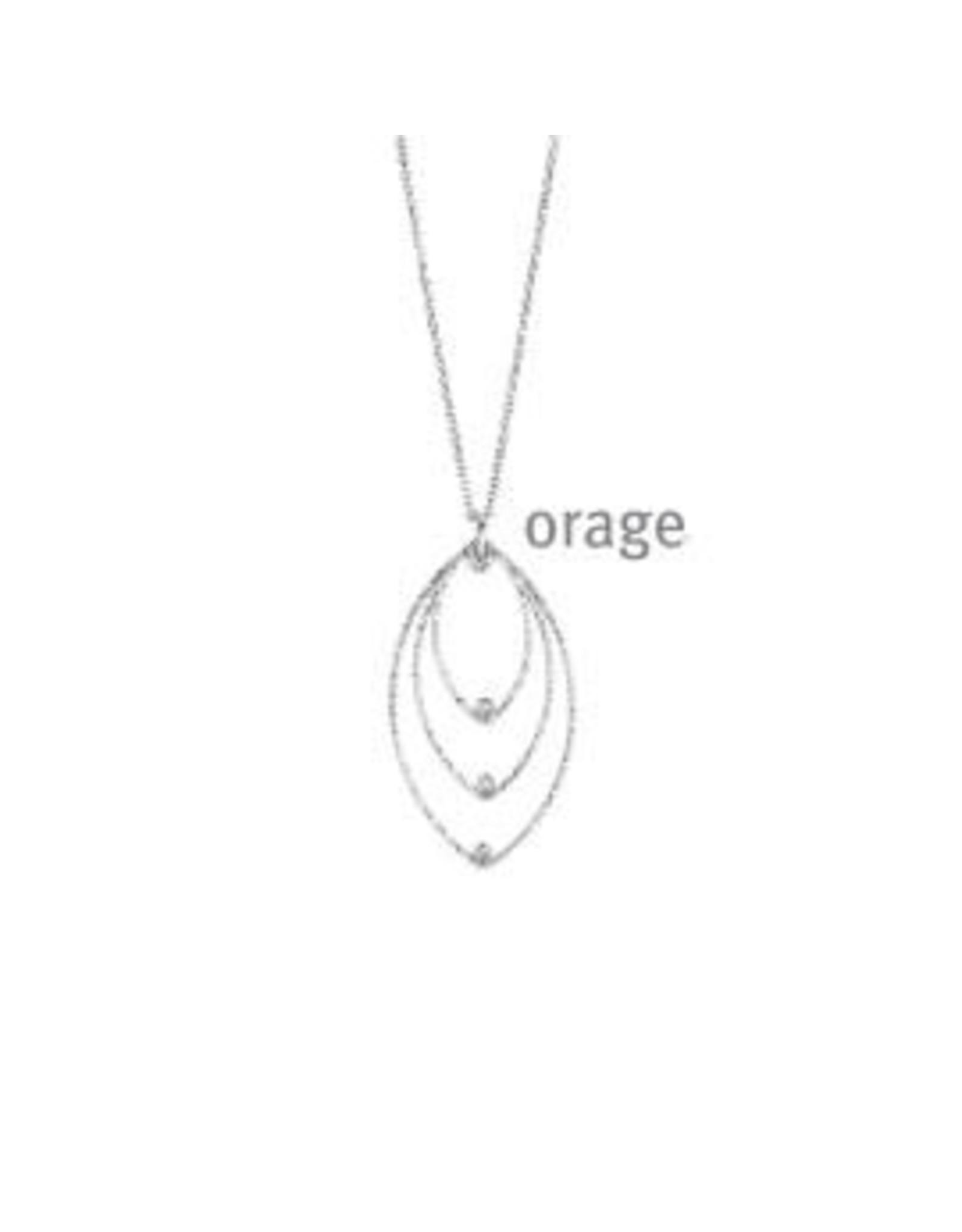 Orage Halsketting Orage AR052 Zilver