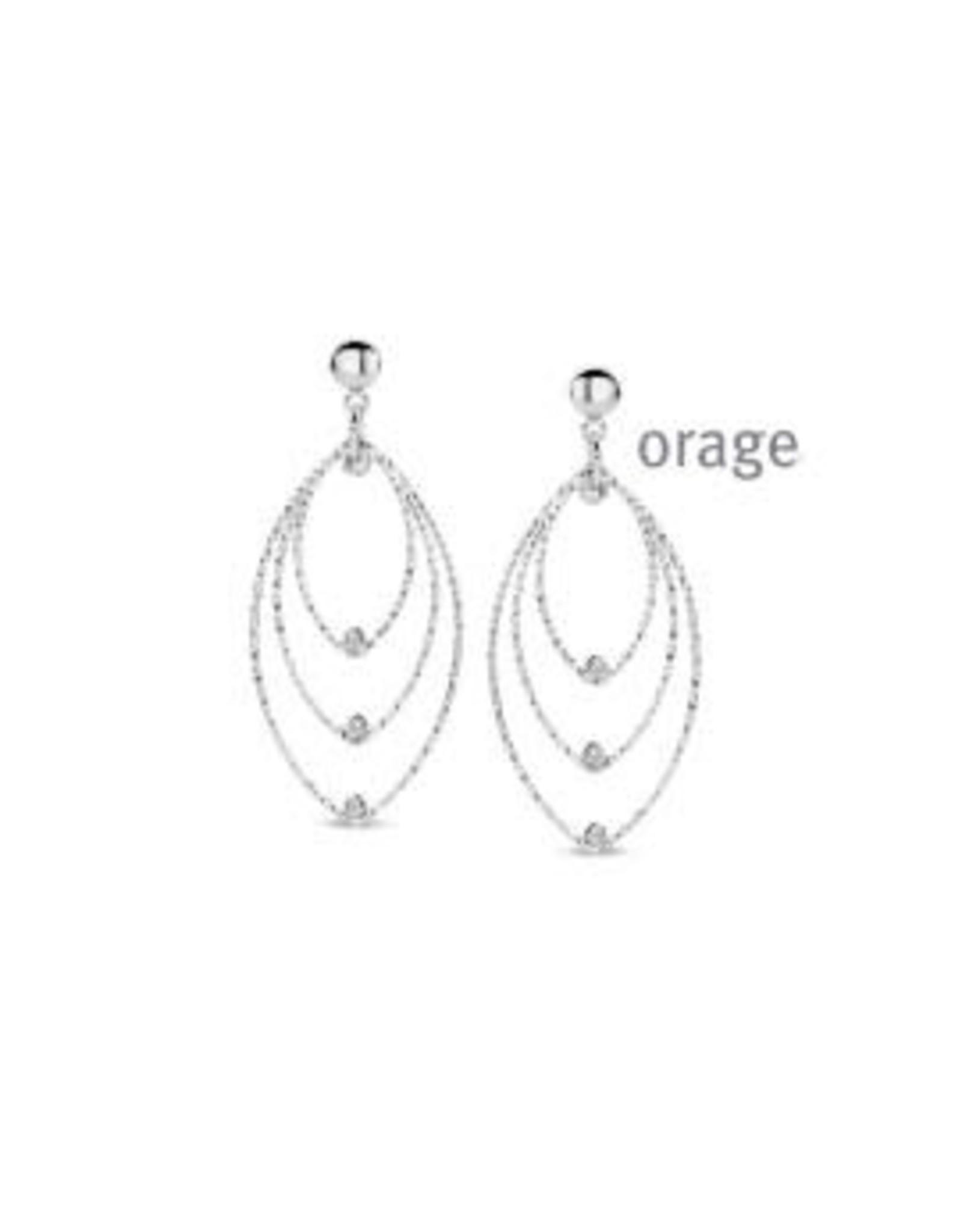 Orage Oorslingers Orage AR053 Zilver