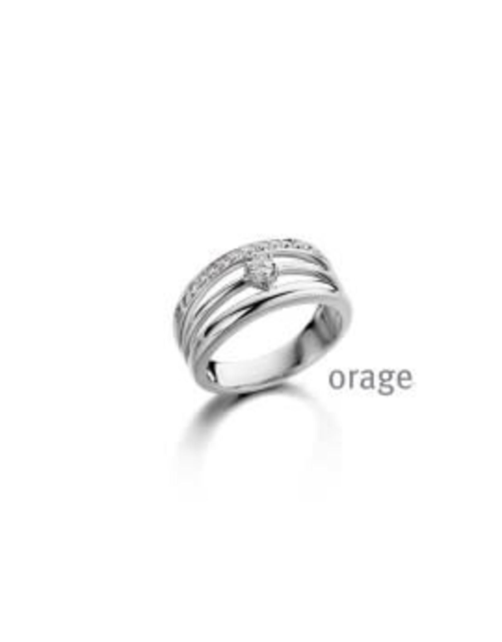 Orage Ring Orage AR057 Zilver