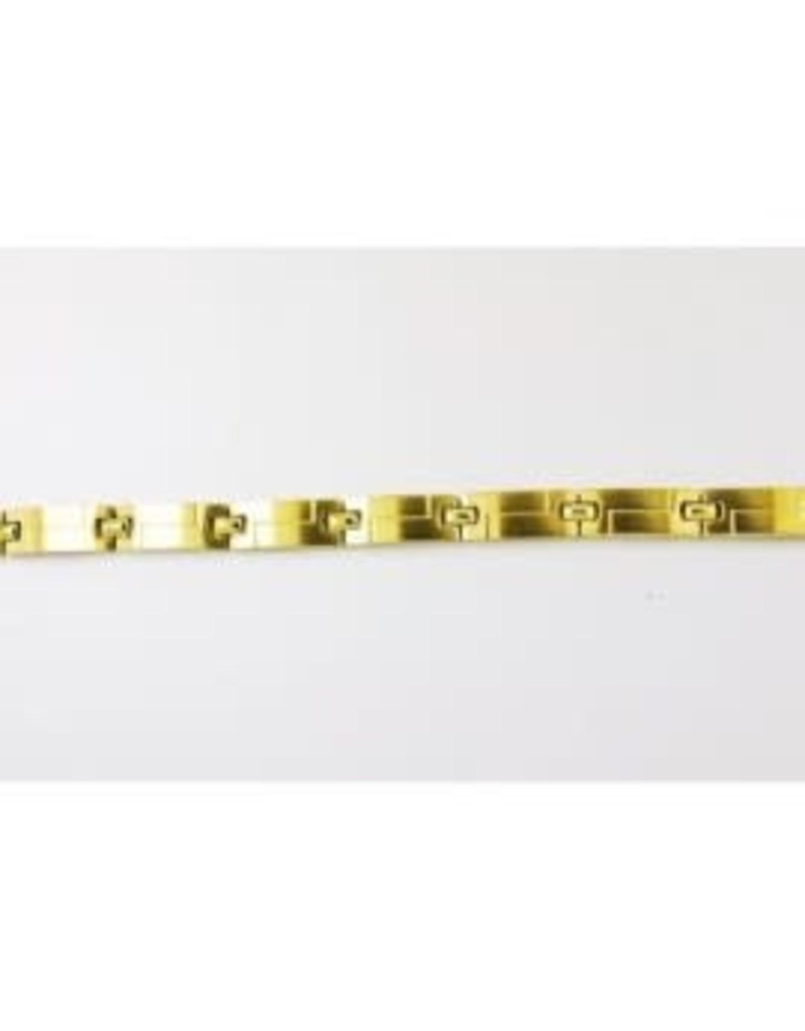 Orage Orage Armband Heren A/2408/21 Staal Verguld