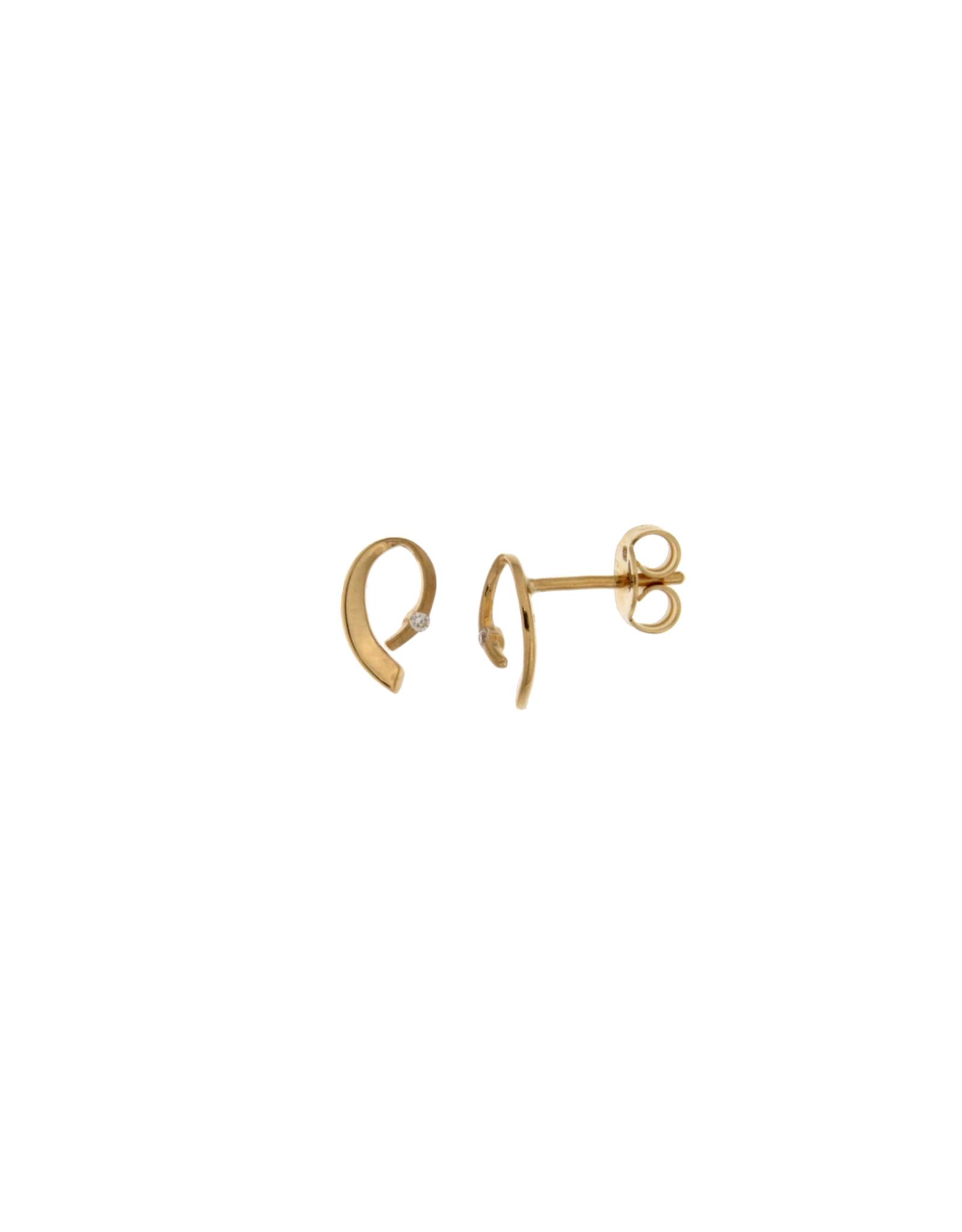 Oorbellen Geel Goud 18kt 062665/A