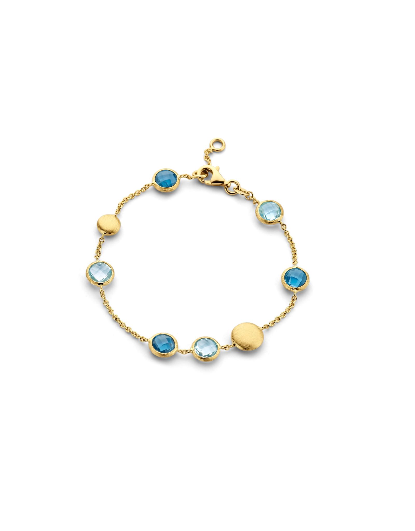 Femme adoree Armband geel goud 18kt topaas 04A0401