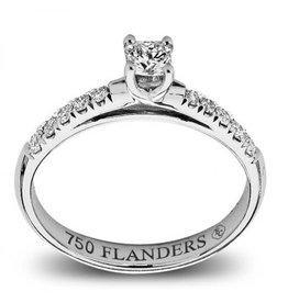 Flanders Ring Flanders Wit Goud 18kt 191 DEF SI1