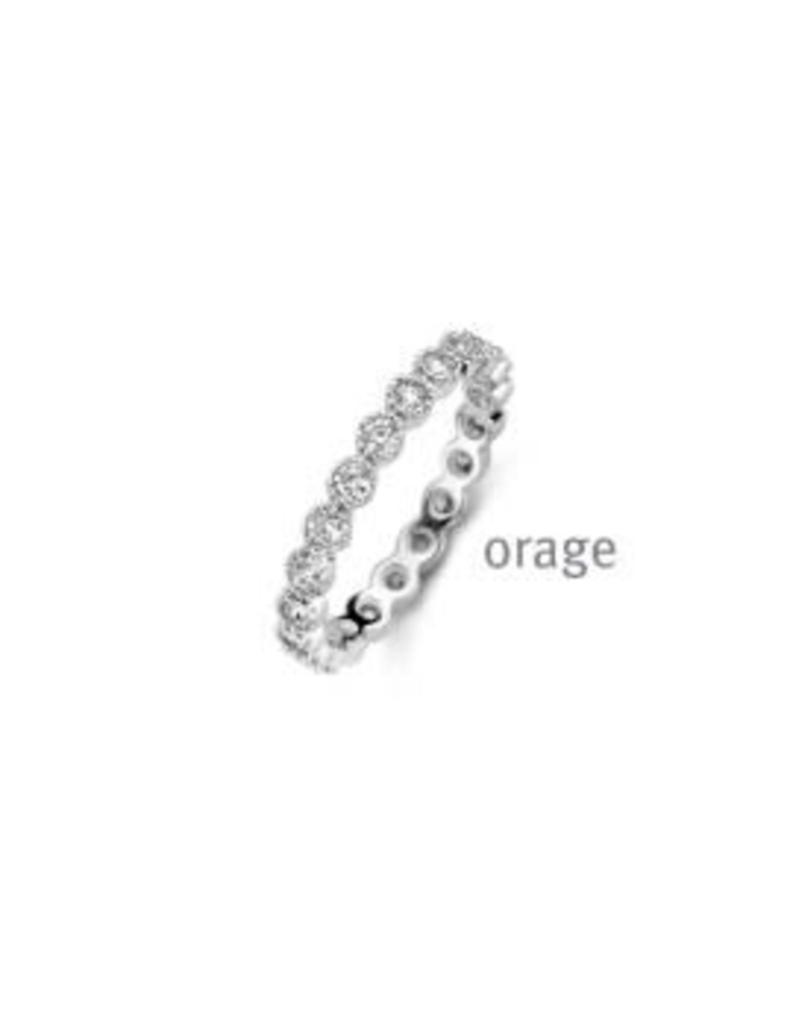 Orage Ring  Entourage Orage AR132-52 Zilver Zirkonium