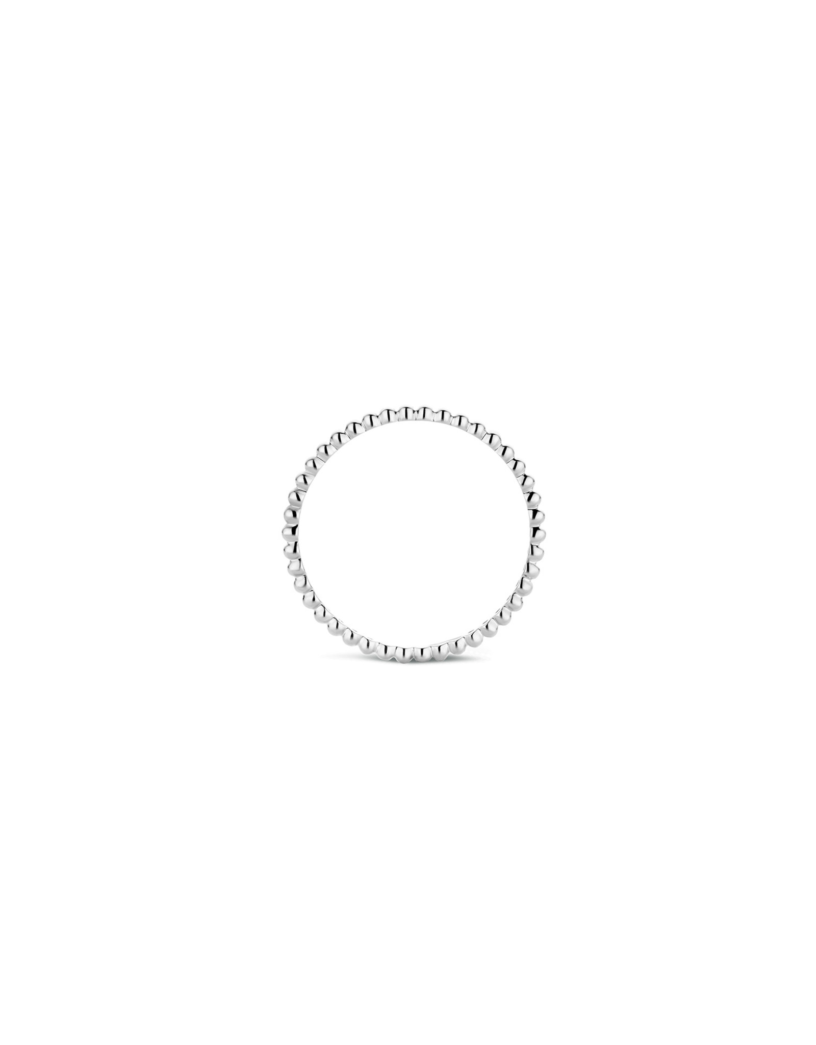 Blush Ring Blush Wit Goud 14kt 1195WGO Zirkonium maat 52