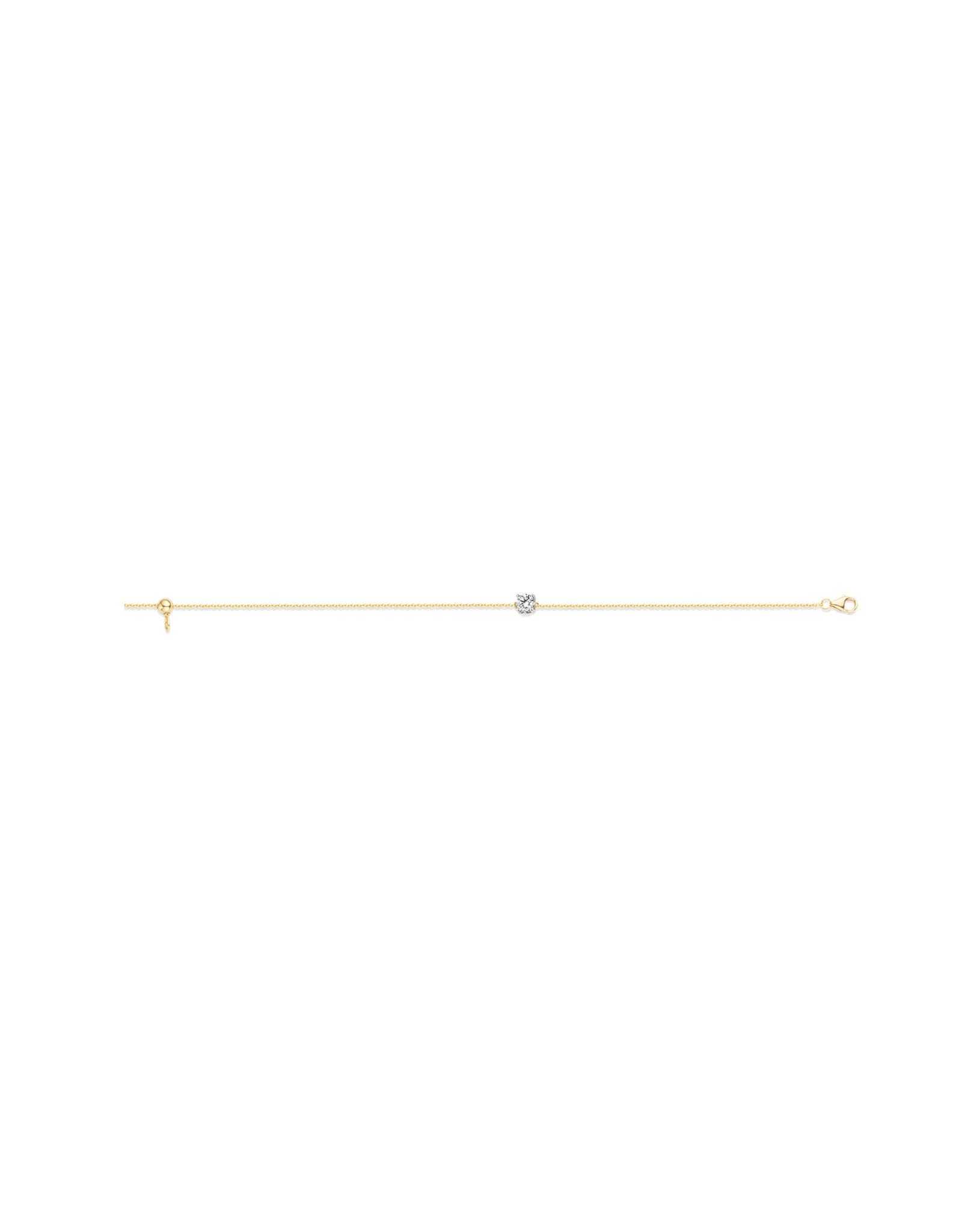 blush Armband Blush Geel Goud 14kt 2166BZI Zirkonium