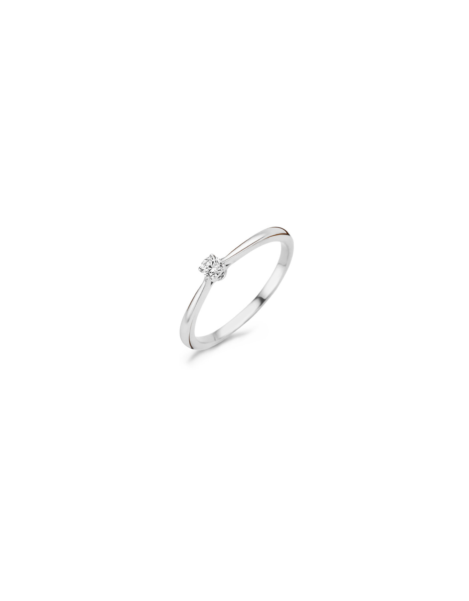 blush Ring Blush wit goud 14kt 1186WZI zircoon maat52