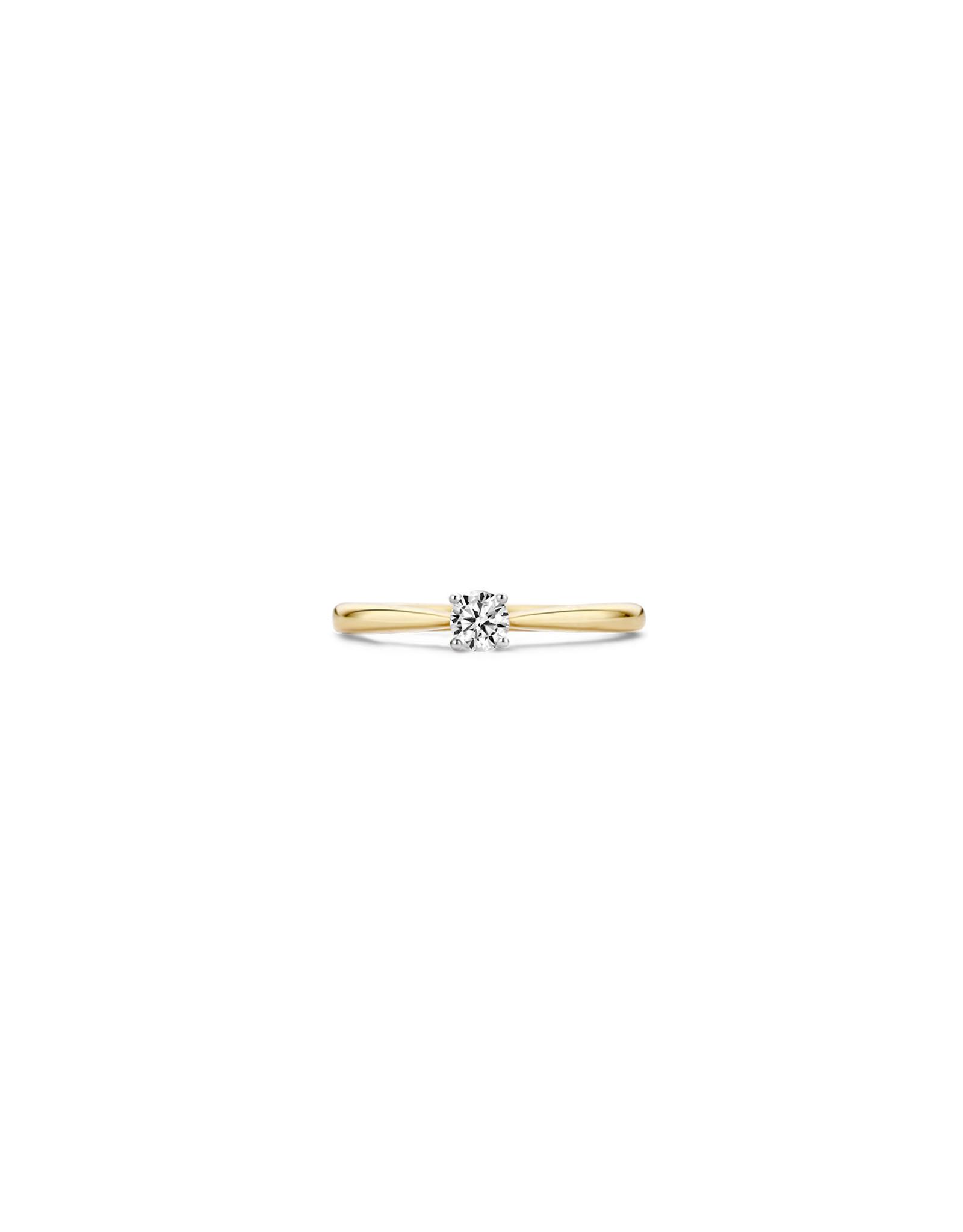 blush Ring Blush bicolor 14kt 1187BZI zircoon maat 54