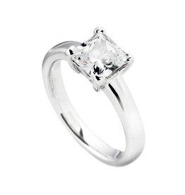 Diamonfire Ring Zilver 61/0950/1/082-54