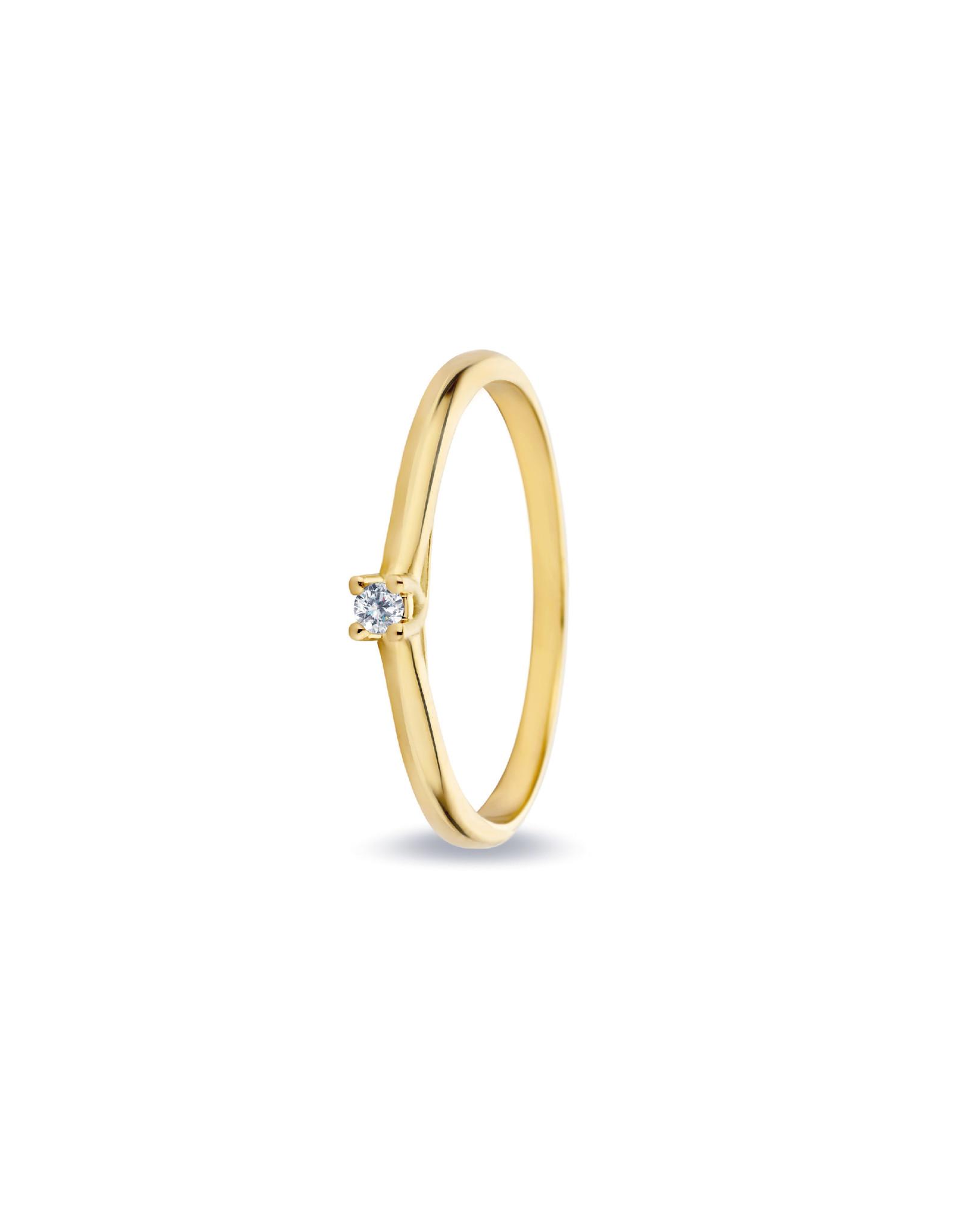 Miss Spring Ring Allerliefste Noor Geel Goud 18kt MSR529GG
