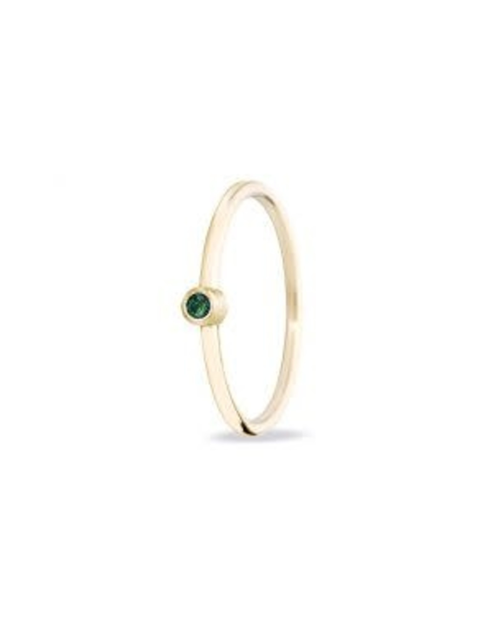Miss Spring Ring Button Geel Goud 18kt MSR024TSA Tsavorite