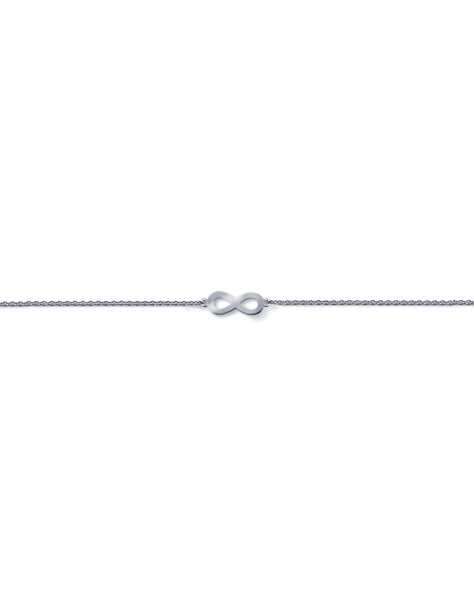 Miss Spring Armband Tiny Ones Wit Goud 18kt MSA149WG Infinity