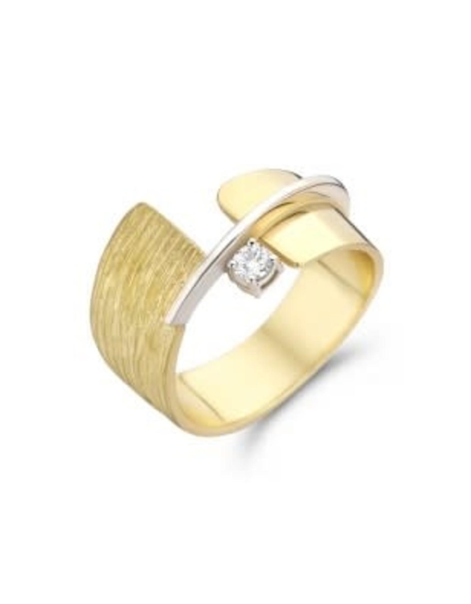 Ring 18kt Bicolor SR3461BB