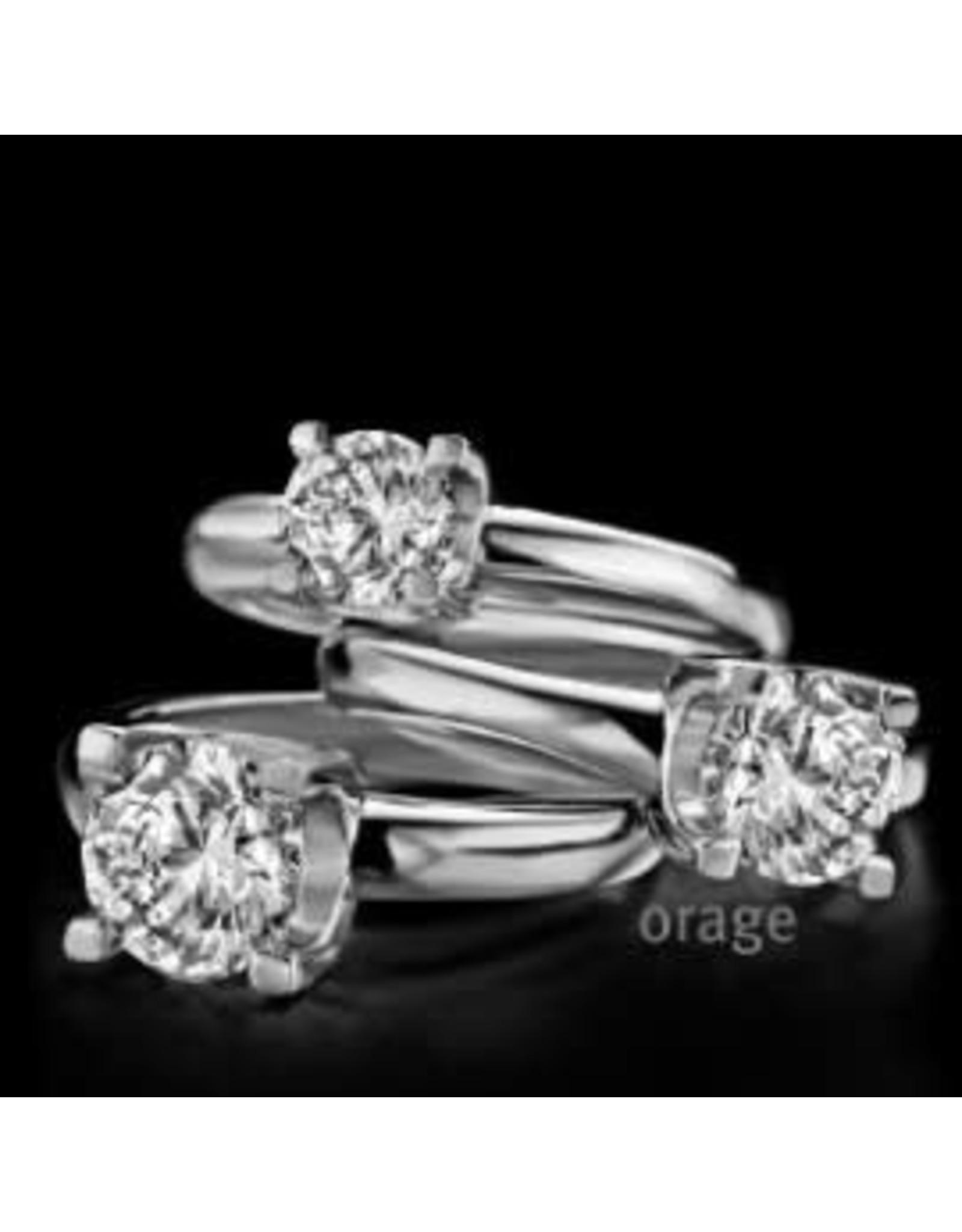 Orage Ring Solitaire Zilver X148 6mm