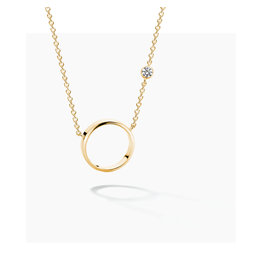 FJF Jewellery Halsketting FJF0010009YWH Zilver Goud Verguld New Icon