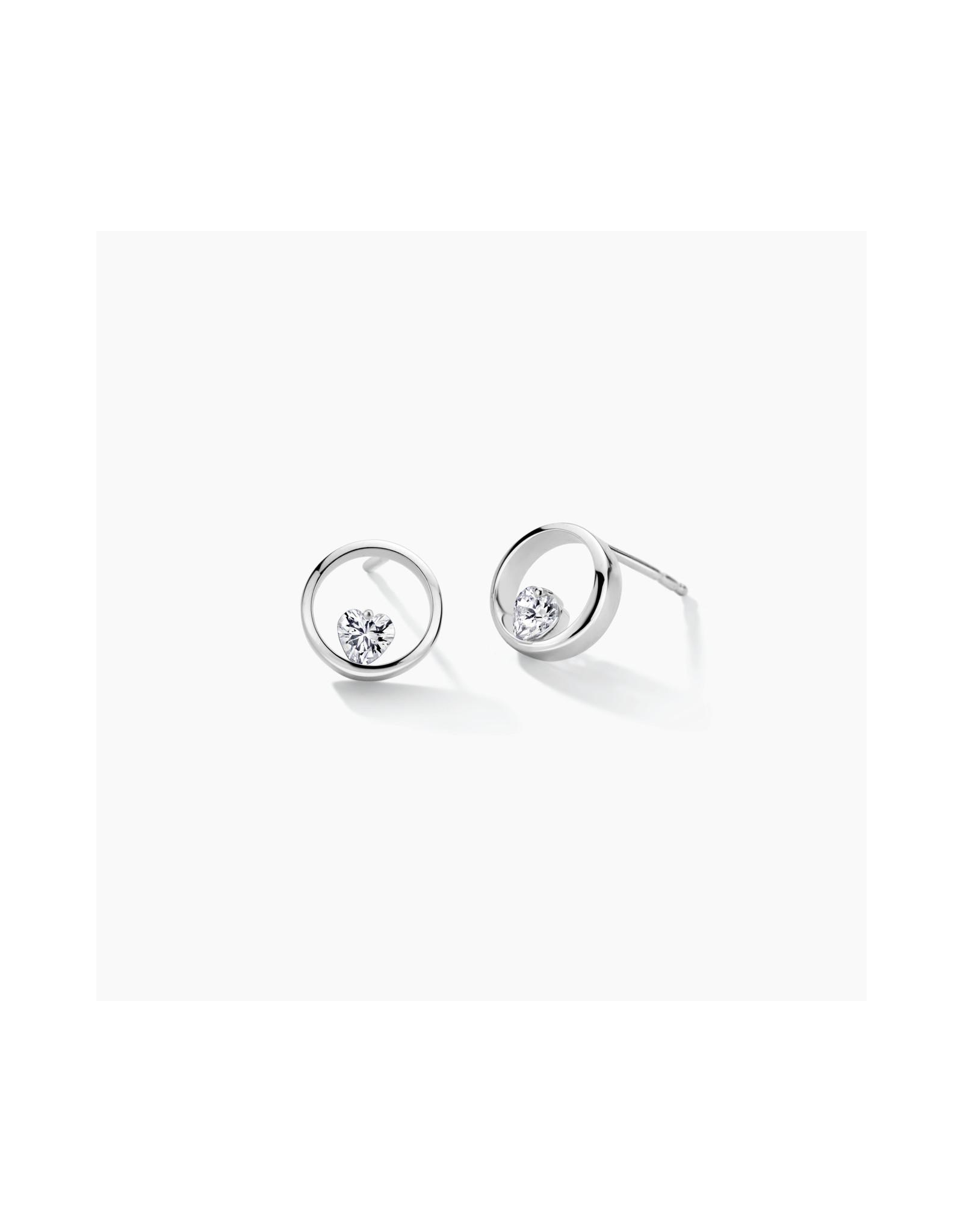 FJF Jewellery Oorbellen FJF0030007SWH Zilver