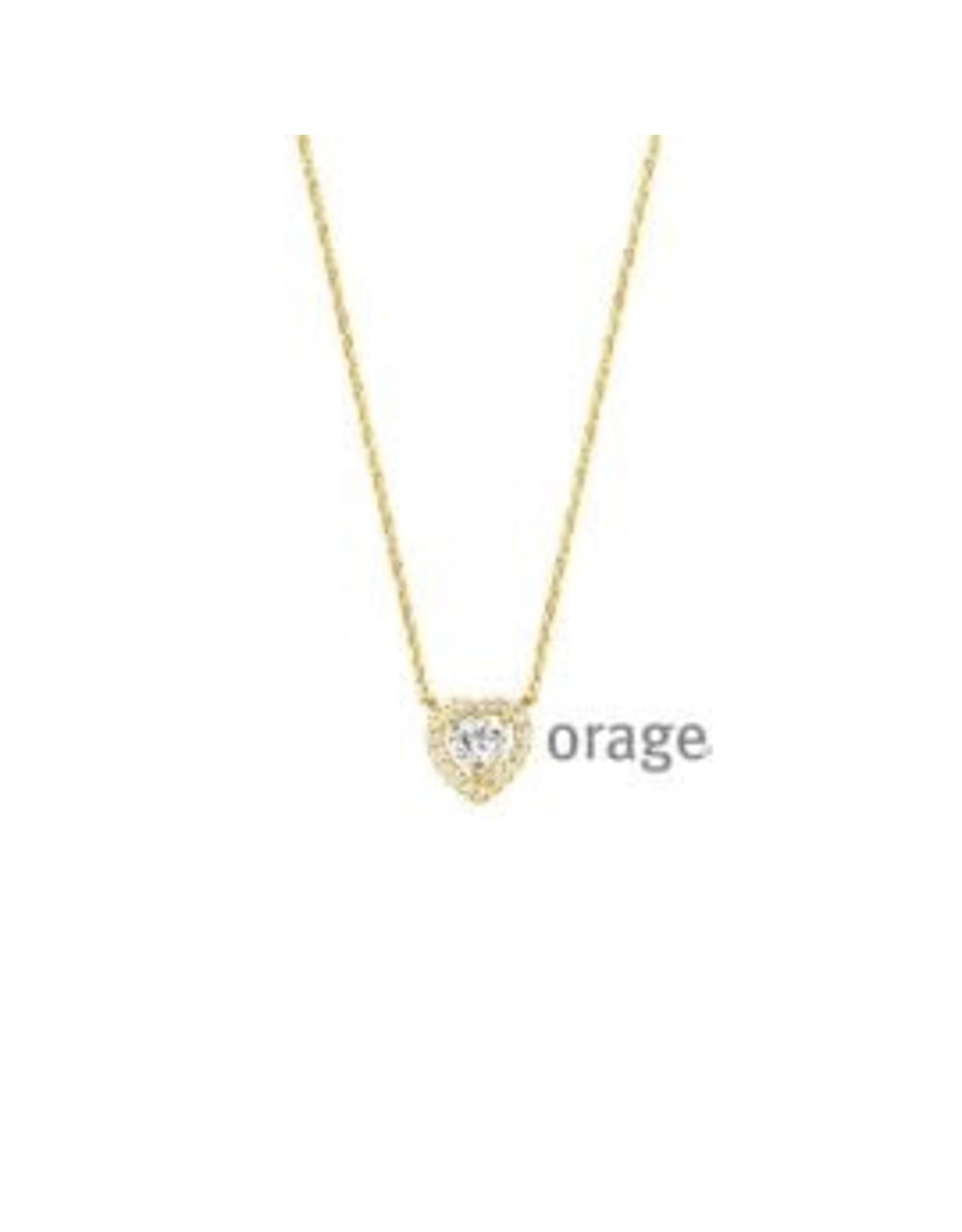 Orage Halsketting Hartje Orage V1446