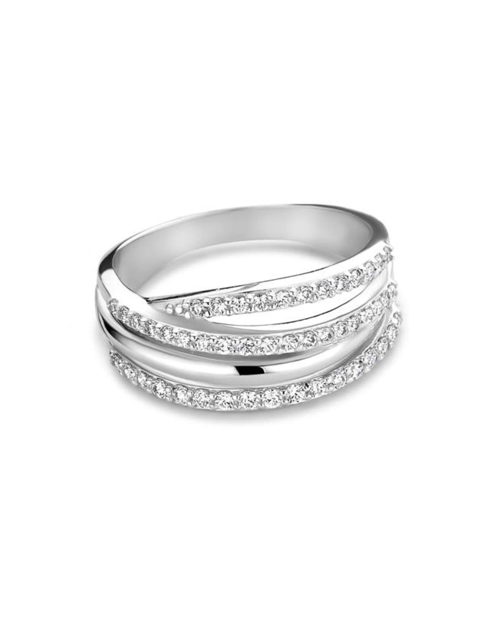 Ring Wit Goud GR42221WZ Zirkonium