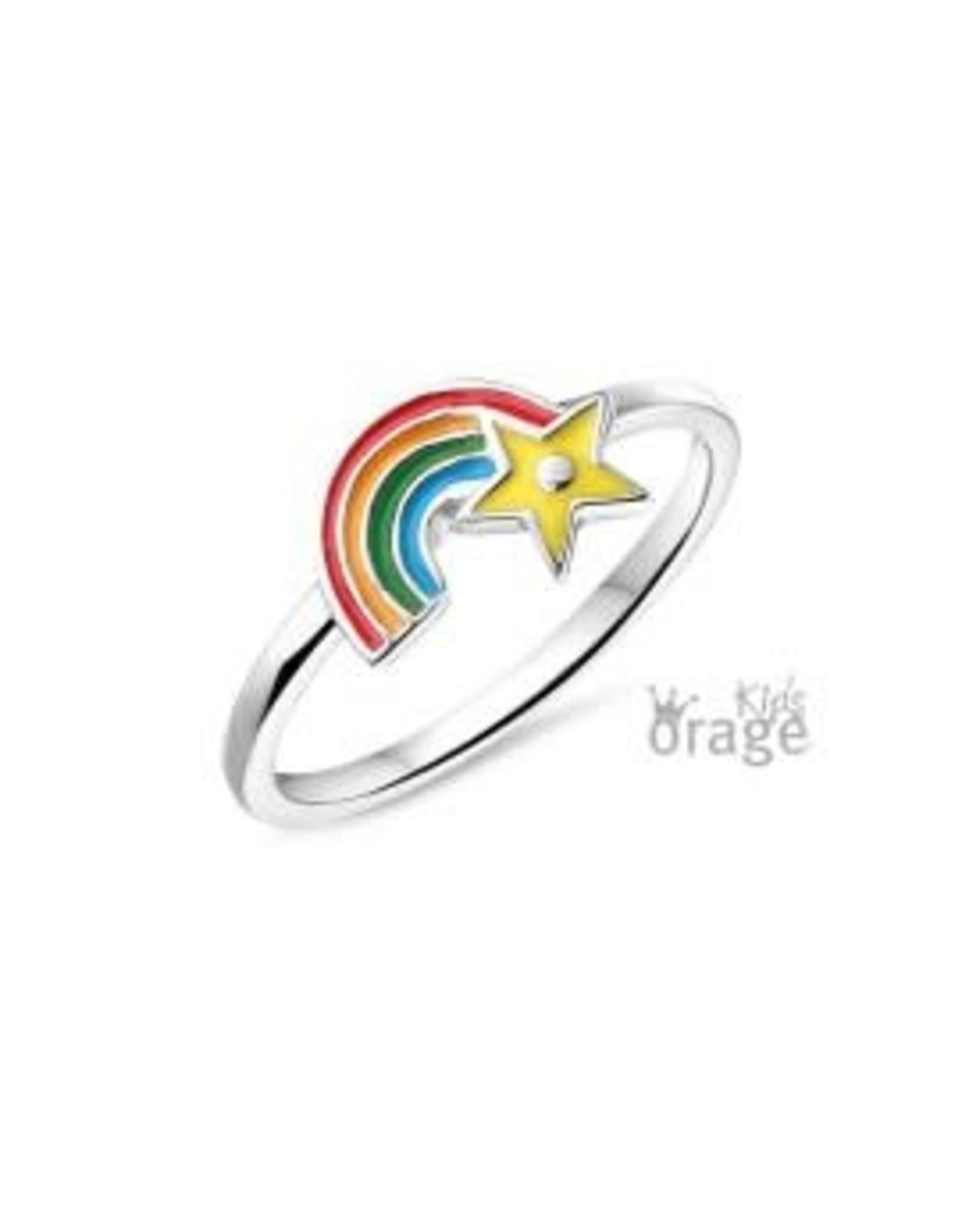 Orage Kids Ring Orage Kids K2126/44 Zilver Regenboog