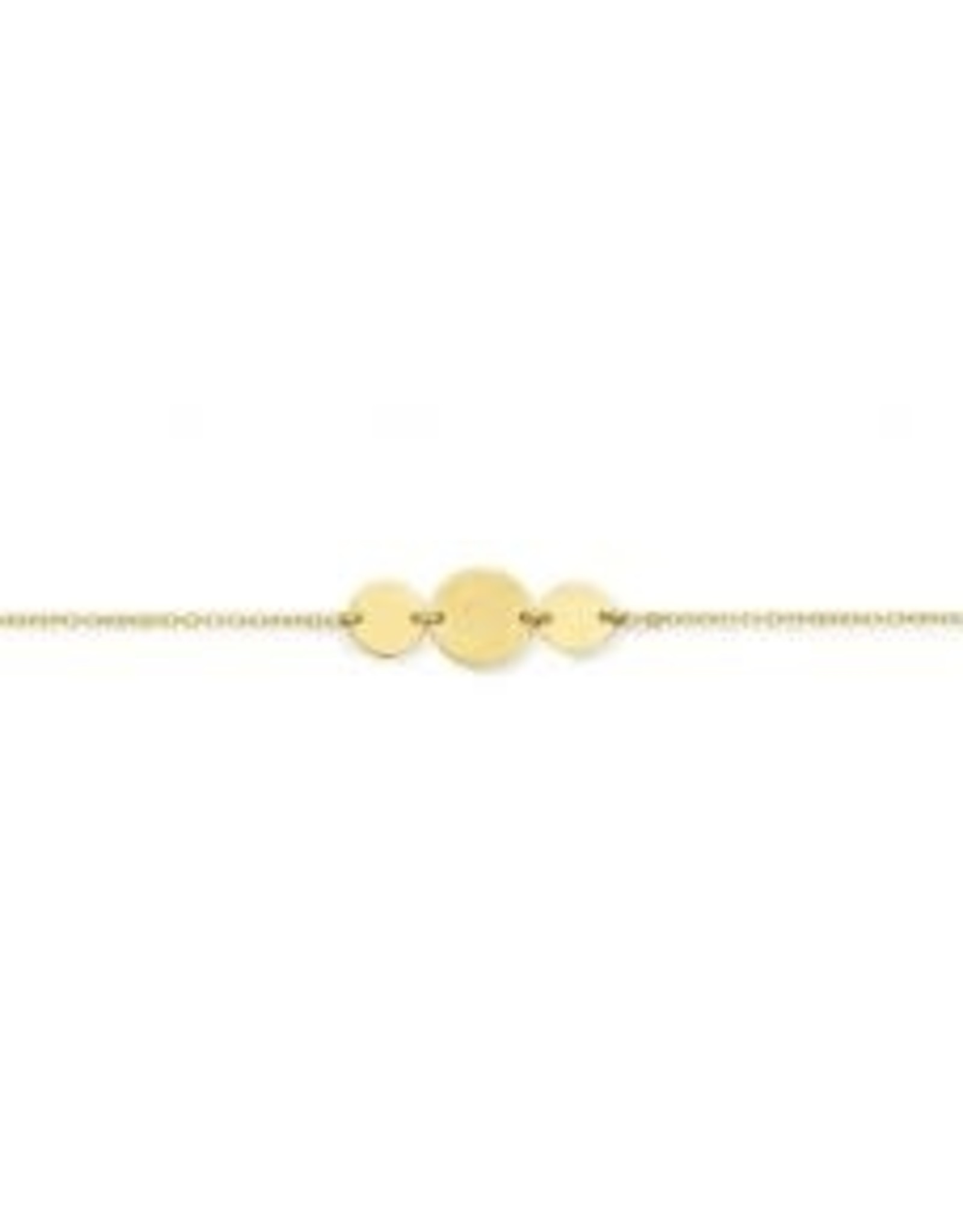 Armband Geel Goud 18kt PB1274G 18 cm