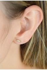 Diamanti Per Tutti Parana Earring (Single) - Zilver Briljant