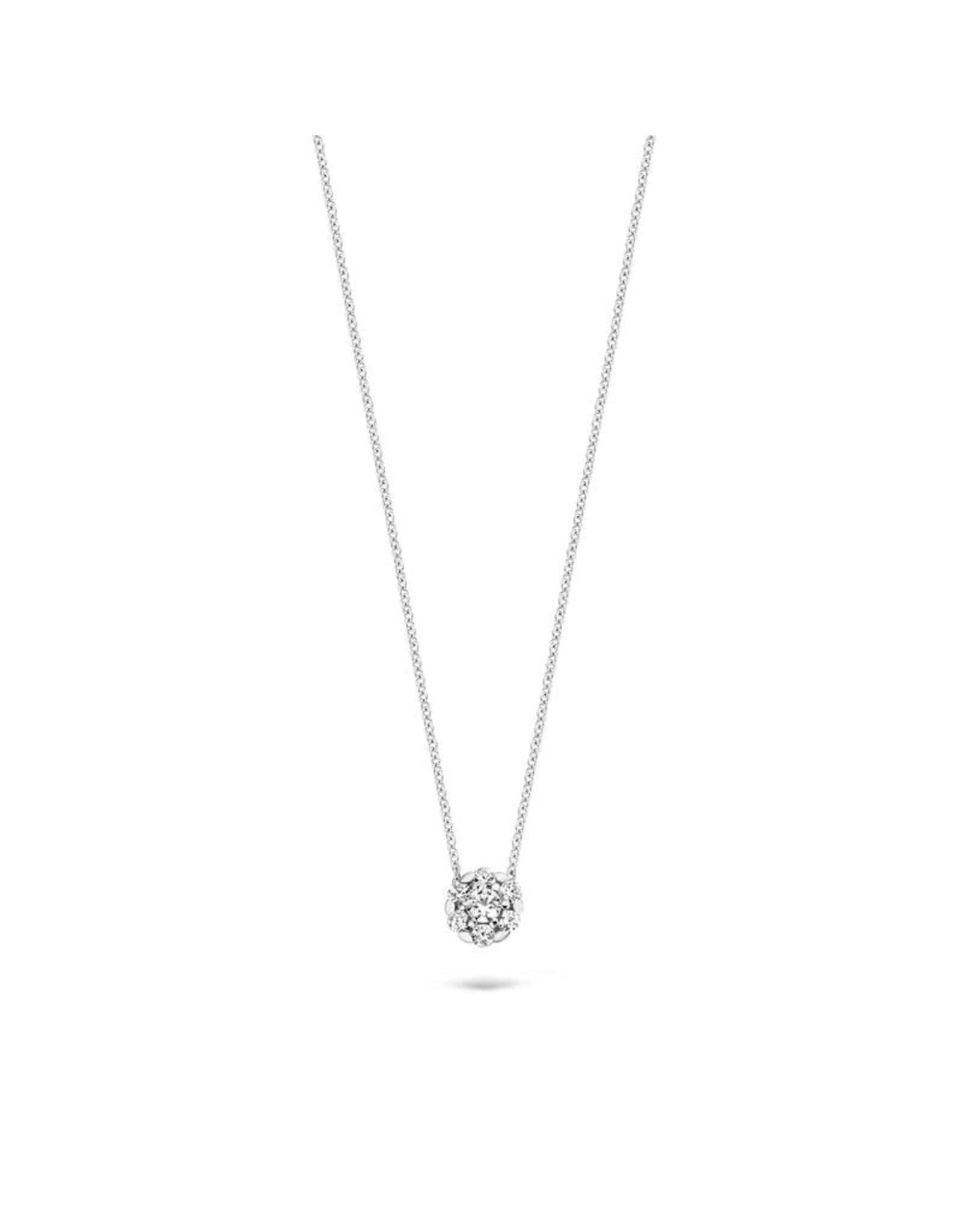 Blush Halsketting Wit goud 14kt 3097WZI Zirconium
