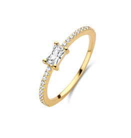 Ring Naiomy Moments B0O07 Zilver Verguld