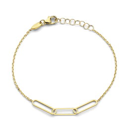Armband Naiomy Moments B1C12 Zilver Verguld