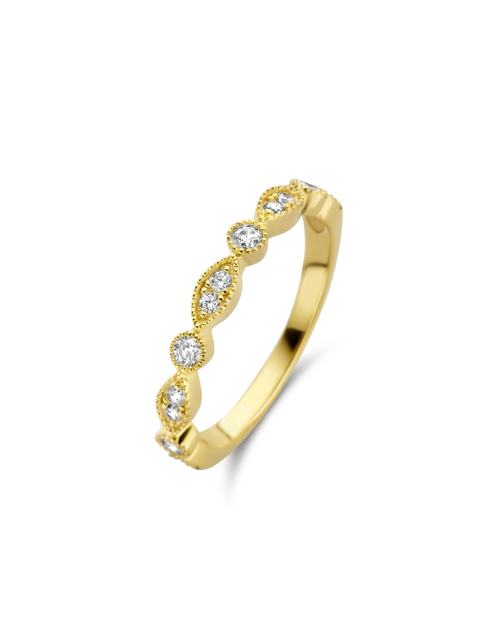 Ring Naiomy Moments B1F06 Zilver Verguld
