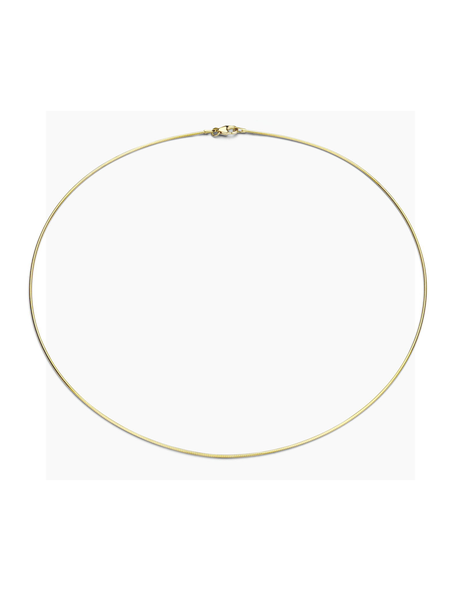 FJF Jewellery Collier FJF Tonda zilver verguld FJF0020145SYG