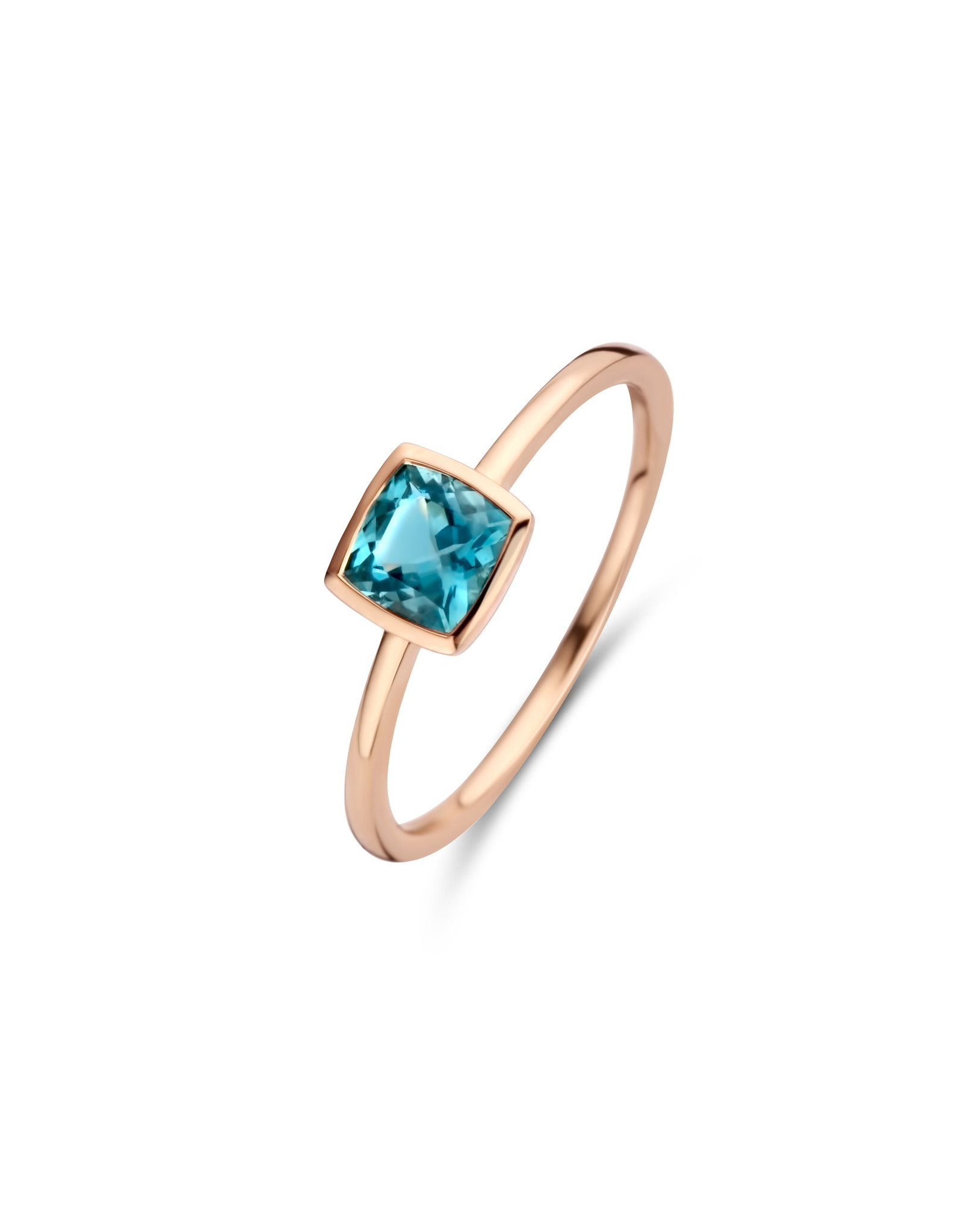 Ring Roos Goud 18kt 063016/T1-53 London Blue