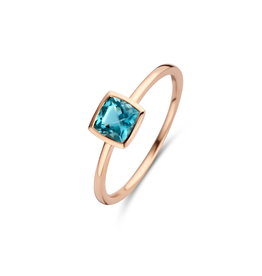 Ring Roos Goud 18kt 063016/T1-53 London Blue