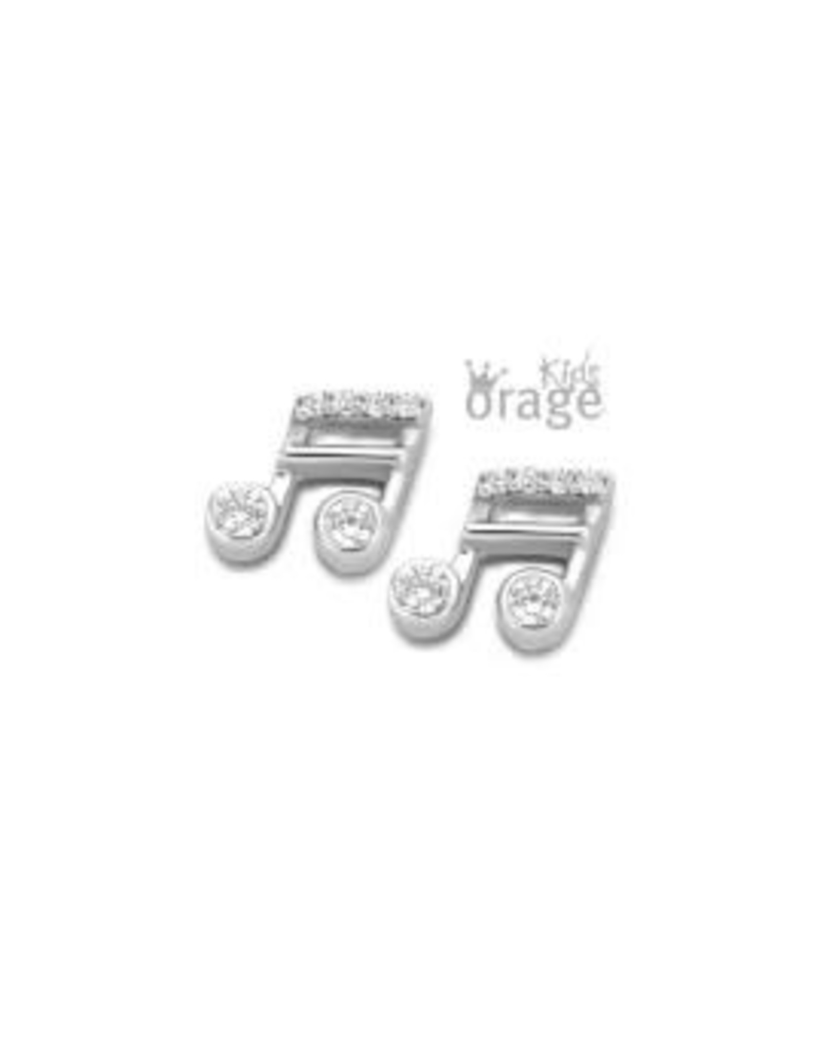 Orage Kids Oorbellen Orage Kids K2176 Muzieknoot Zilver