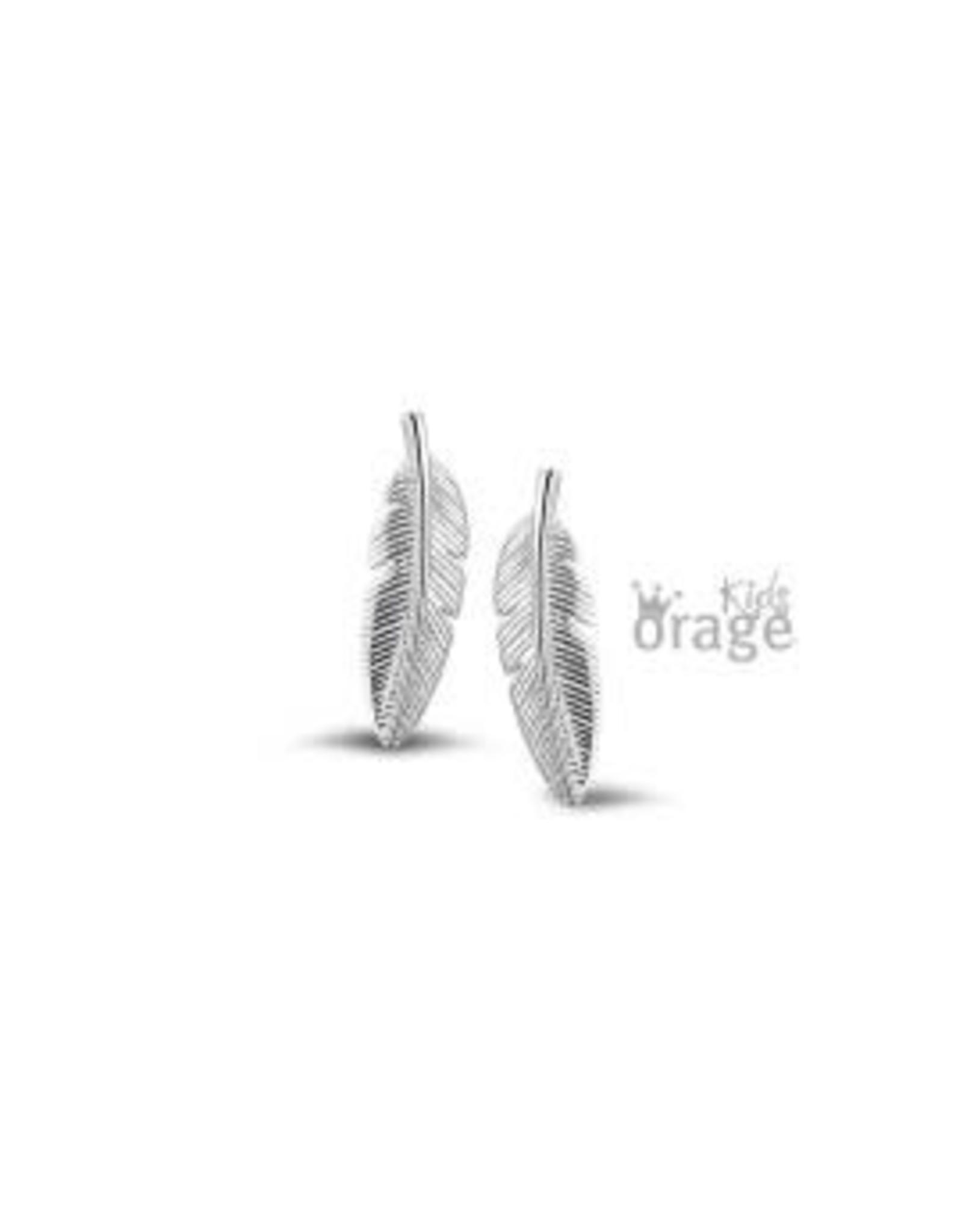 Orage Kids Oorbellen Orage Kids K2153-K1835 Veer Zilver