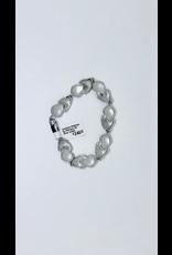 Mathisse by Stevigny Armband Mathisse By Stevigny A5 Zilver lengte 20.5cm