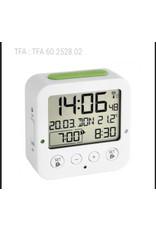 TFA 60.2528.02  Wekker Wit