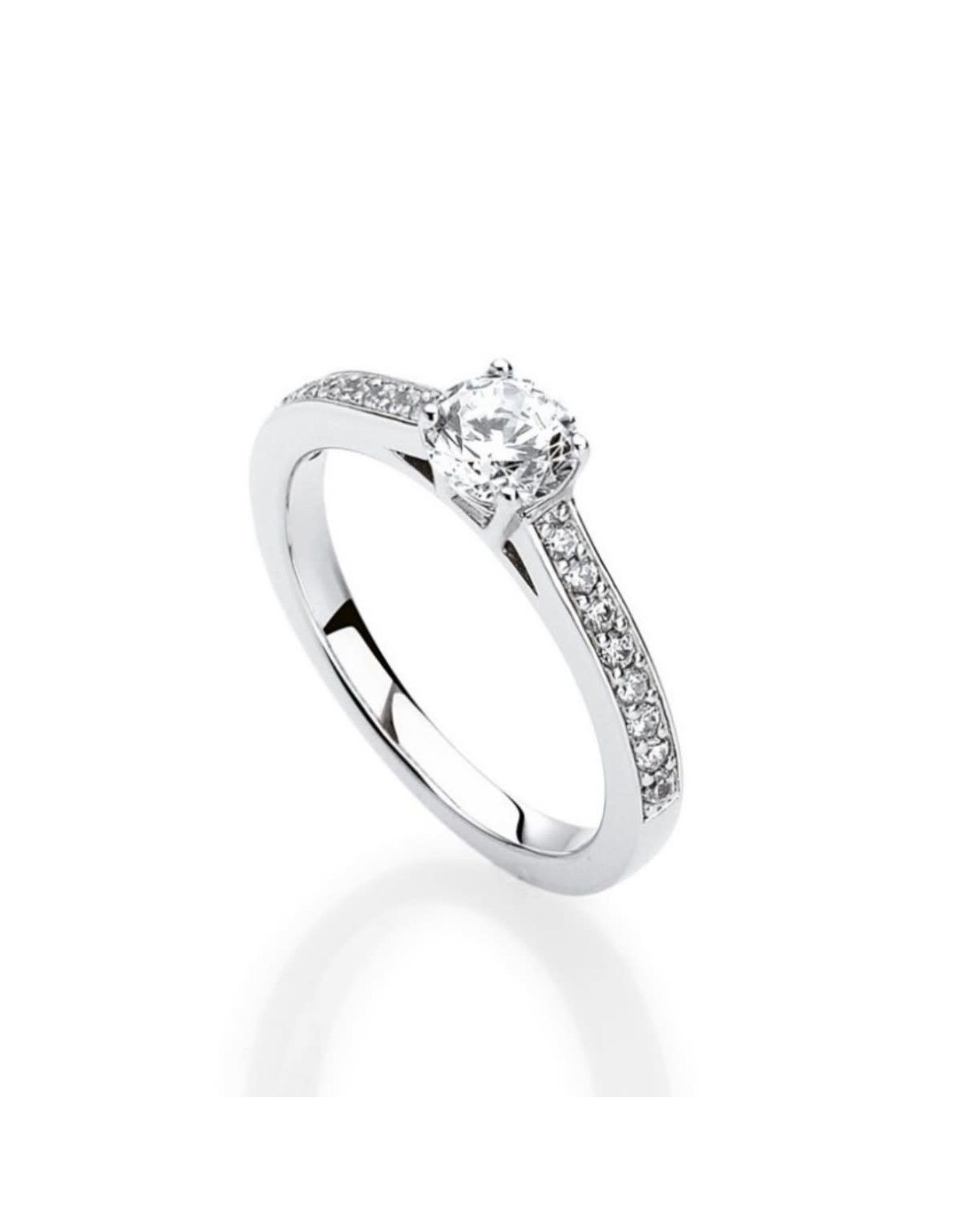 Ring Solitaire Naiomy Moments B2D14 Zilver