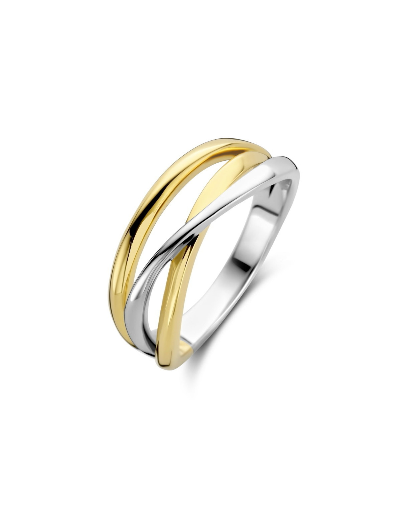 Ring Naiomy Moments B1N01 Bicolor Zilver/Zilver verguld