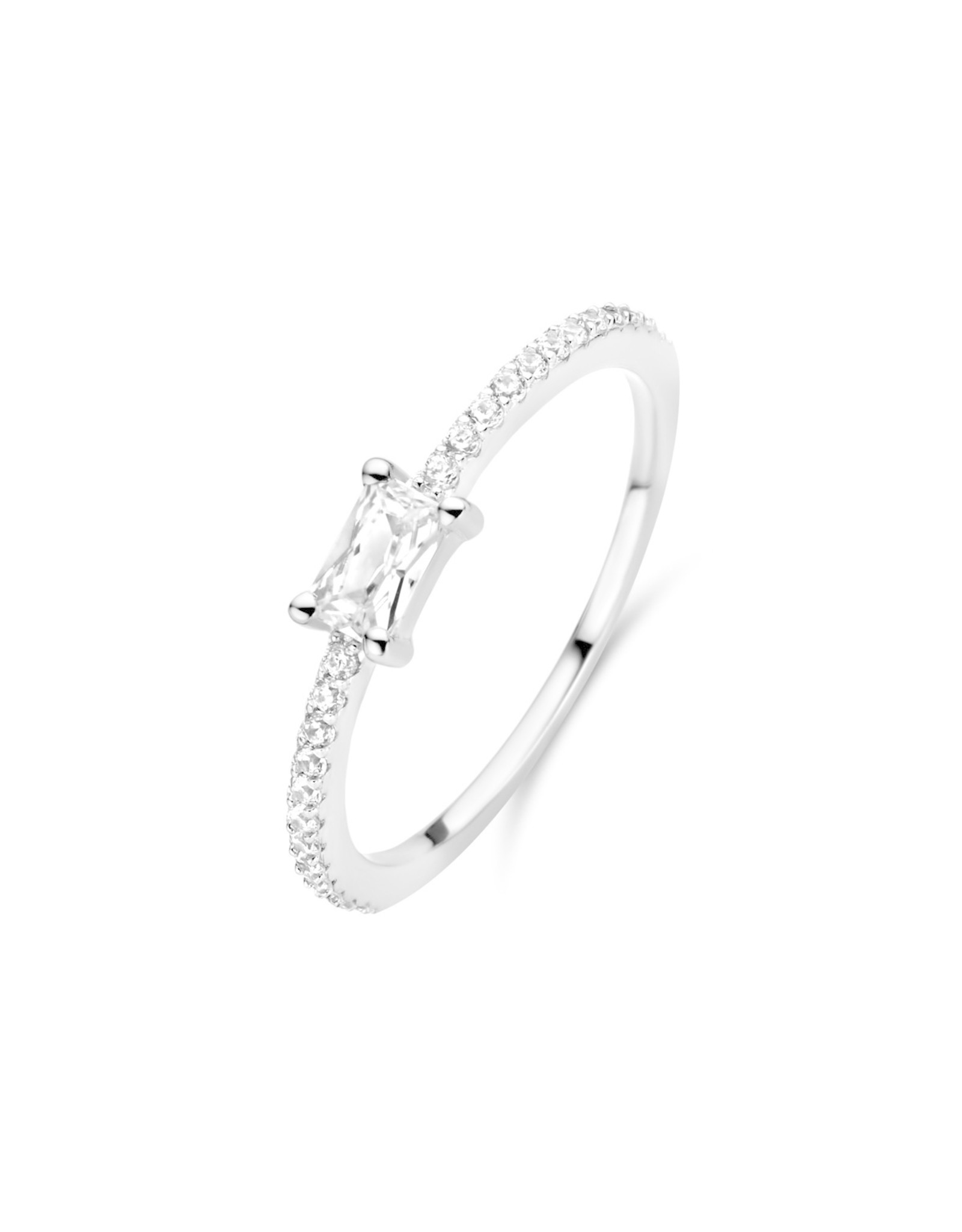 Ring Solitaire Naiomy Moments B0O02 Zilver