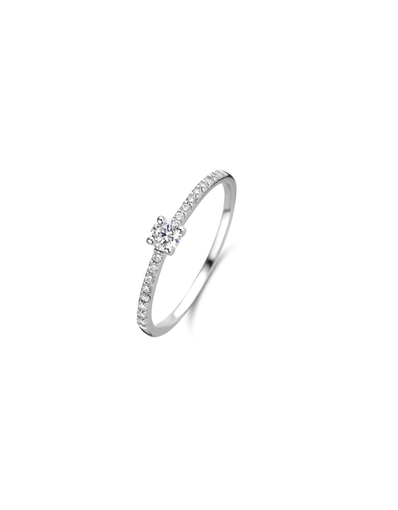Ring Solitaire Naiomy Moments B4D08 Zilver