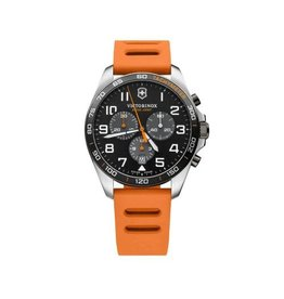 Victorinox Victorinox 241893 Sport Chronograph Quartz Black dial orange rubber strap42 mm